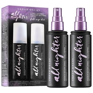 "Urban Decay ""ALL NIGHTER"" Makeup Setting Spray Duo"